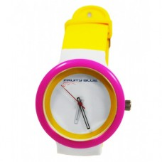 ALEX - SILICONE UNISEX JELLY WATCHES FUNKY COLOURS 2018 FASHION