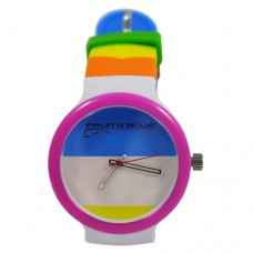 BROGAN - SILICONE UNISEX JELLY WATCHES FUNKY COLOURS 2018 FASHION