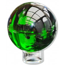 EMERALD GREEN CRYSTAL BALL