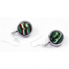 Choco Mint Earrings. Macaraya products are the latest fashion industry accessory.