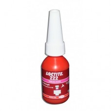 LOCTITE 222 LOW STRENGTH - THREADLOCKER - ALL METAL ADHESIVE - GLUE 10 ML