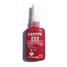 LOCTITE 222 LOW STRENGTH - THREADLOCKER - ALL METAL ADHESIVE - GLUE 50 ML
