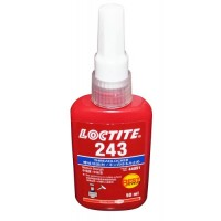 LOCTITE 243 MEDIUM STRENGTH - THREADLOCK - ALL METAL ADHESIVE - GLUE 50 ML