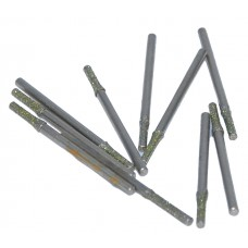 10 X 2MM Diamond tip drill bits for ceramic, glass, porcelain - UK Seller