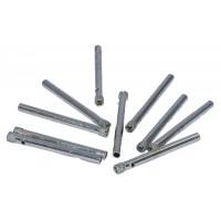 10 X 4MM Diamond tip drill bits for ceramic, glass, porcelain - UK Seller